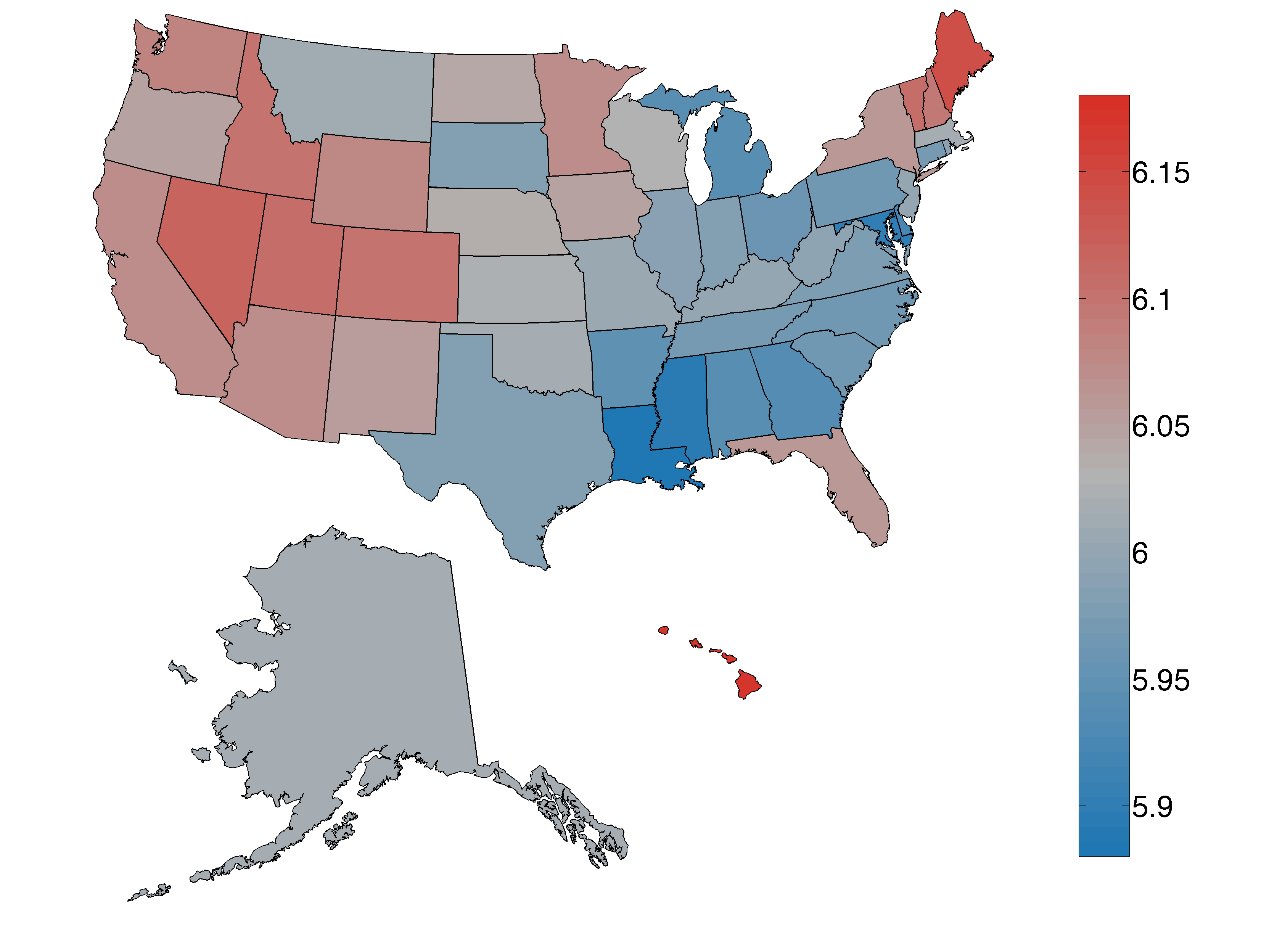 Where Is The Happiest City In The USA - Louisiana on the map of usa